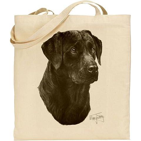 Mike Sibley (Labrador noir sac en coton naturel