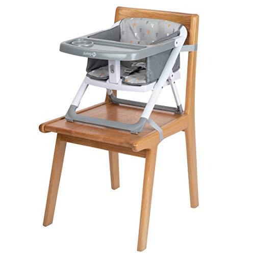 Safety 1st TAKE EAT 'Warm Gray' - Trona de silla, unisex, 6 meses a 3 años, 15 kg, color gris