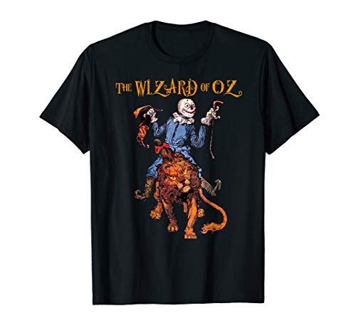 Retro Classic The Wizard of OZ Cowardly Lion & Scarecrow (Wizard Of Oz The Lion)