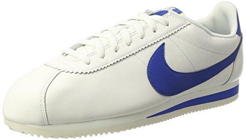 Nike Classic Cortez Scarpe da ginnastica Blu (Sail/Blue Jay)