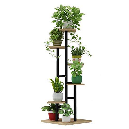 Support de fleurs d'escalier tournant, support en pot de balcon 4, présentoir vert