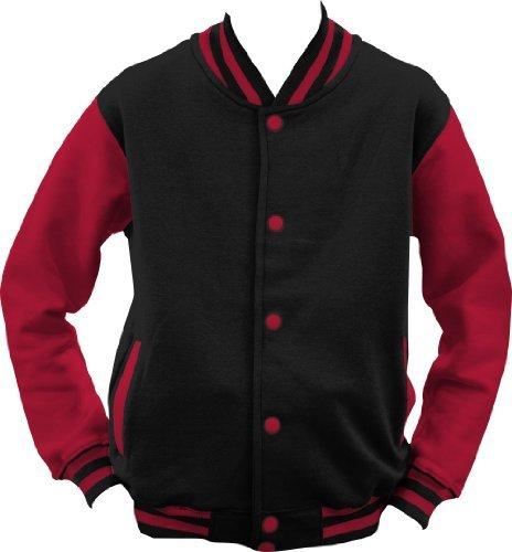 shirtinstyle-college-jacke-jacket-retro-style-farbe-schwarzrot-gre-s