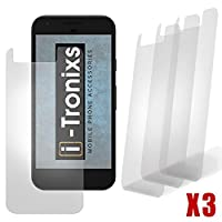 Samsung Galaxy A3 2017 Pack With 3 Screen Protectors With Polish Cloth By i-Tronixs