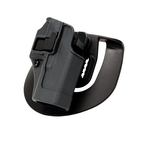 BlackHawk Serpa SpoRusseter Belt Holster For Glock19 Right Hand Grey by BLACK HAWK INC.
