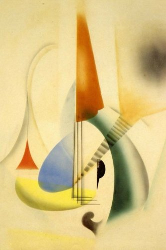 Jazz (Man Ray) Surrealism Art: Blank 150 page lined journal for your thoughts, ideas, and inspiration