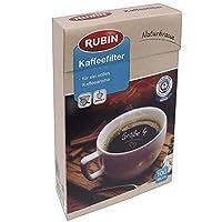 Rubin Doğal Kahverengi Kağıt Filtre 4 Numara 100 Adet