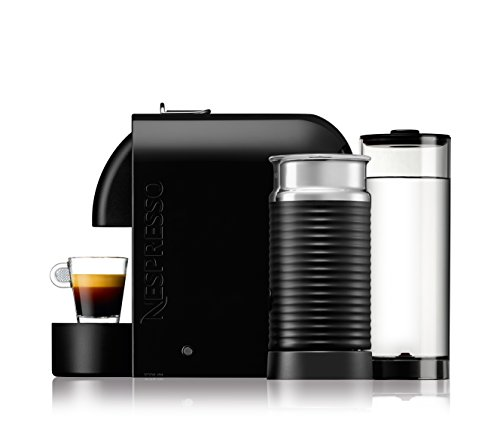 Nespresso U Milk con Aeroccino EN210.BAE Macchina per caffè espresso di De'Longhi, colore Nero (Pure Black) - 2