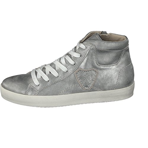 Jane Klain 251 206, Sneaker Alte Donna Argento