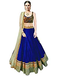 Ujas Enterprise Banglory Silk Lehenga Choli