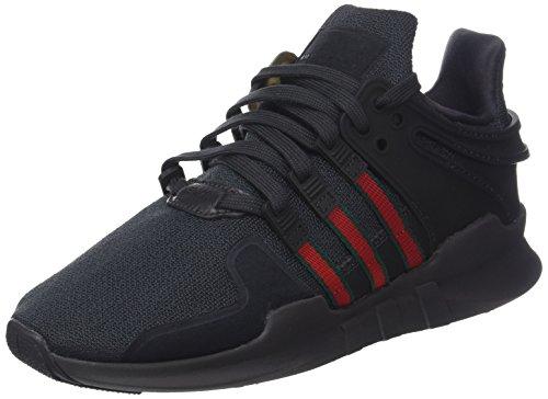 adidas Herren EQT Support ADV Gymnastikschuhe Schwarz (Utility Black F16/scarlet/collegiate Green) 42 2/3 EU