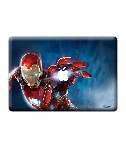 Licensed Marvel Comics Ironman Laptop Skins For Macbook Air 13""