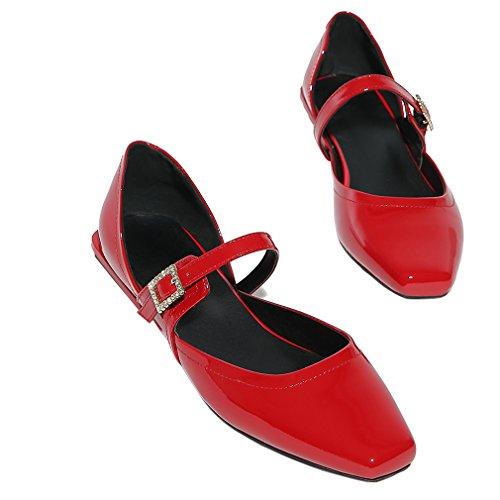 ENMAYER Femmes Chaussures Automne De Printemps Pour Femme Chaussures Chaussures En Talons En Forme De Talon Rouge