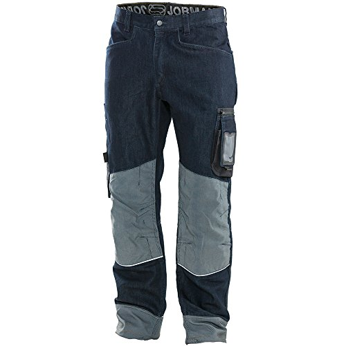 Jobman Handwerker Hose, 1 Stück, C58, denim blau, 299125-6900-C58