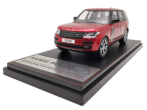 LCD Models LCD43001RE - Land Rover Range Rover SV Autobiography Dynamic 2017 RED - maßstab 1/43 - Sammlungsmodell - diecast Lcd-land Rover