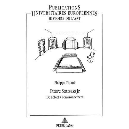 Ettore Sottsass Jr: De l'objet à l'environnement (Livre en allemand)