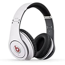 "Beats by Dr. Dre Studio - Auriculares (Supraaural, Diadema, 20 - 20000 Hz, Alámbrico, 3.5 mm (1/8""), 1,361m) Color blanco"