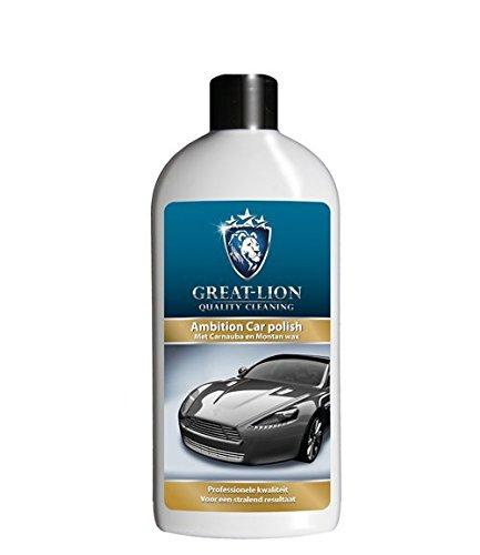 Great Lion Ambition Car polish Politur mit Kaiserrein Allzweckreiniger Test Flasche