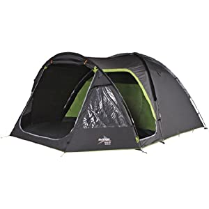 vango waterproof apollo 500 unisex outdoor dome tent available in black - 5 persons
