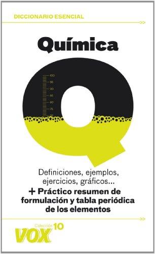 Química (Vox - Diccionarios Temáticos Vox - Colección Vox 10) por Aa.Vv.