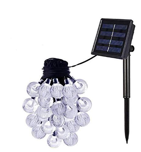 YANGSANJIN Solar-Außenleuchte Lichterkette wasserdichter LED Lichterkupferdraht Gartenlichter, Pavillon, Terrasse, Rasen, Innen- und Außengarten, Weihnachtshochzeitsdekoration, warmes, 20 Warm White