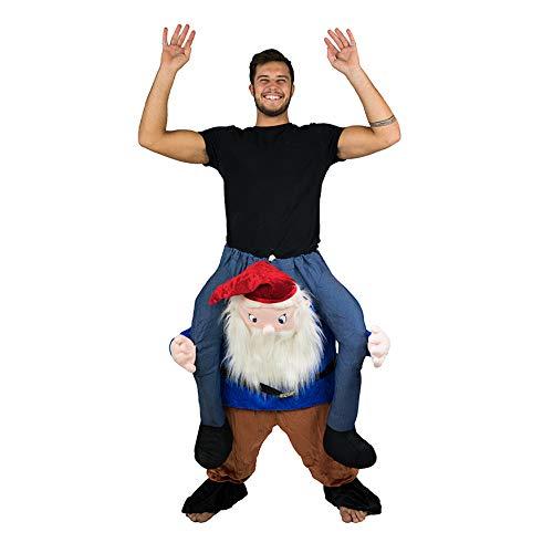 Bodysocks® Gnomen Huckepack (Carry Me) Kostüm für Erwachsene
