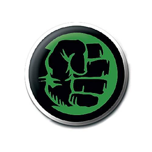 Genuine Marvel Comics Die unglaubliche Hulk Faust Symbol Logo Taste Abzeichen Stift Retro -