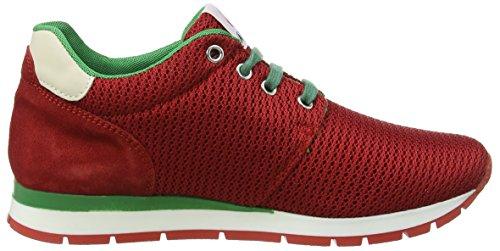 Sneakers ROSSO Rot Naturino Unisex Naturino RETE Petra Kinder VELOUR OfnSUgq