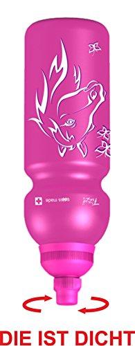 Fizzii 600ml PFERD, Kunststoff Trinkflasche auslaufsicher bei Kohlensäure, schadstofffrei, spülmaschinenfest