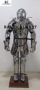 Nautisches Mart Spanisch Knight Farbe der Mittelalterliche Armor tragbar Halloween-Kostüm