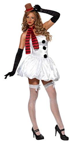 Smiffy's - Schneemann - Fieber - Erwachsene Weihnachten Kostüm Kostüm - Small