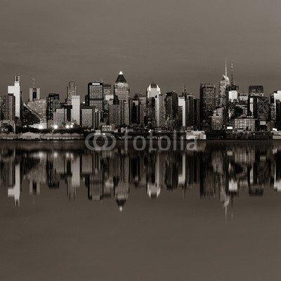 midtown-manhattan-skyline-73437633-poster-110-x-110-cm