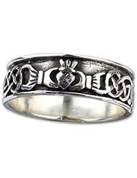 etNox-Ring ''Claddagh'' 925 Silber (R158)