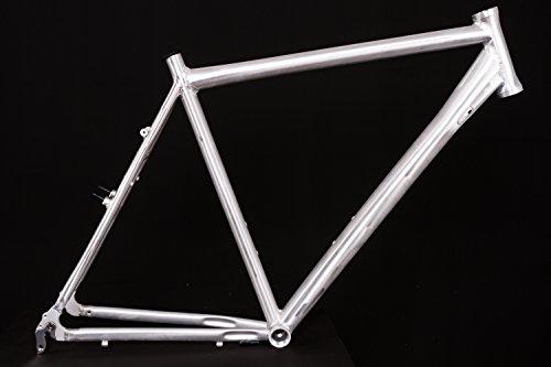 "28\"" Zoll Alu Fahrrad Rahmen Herren Trekking City Bike Ketten Schaltung Rh 60cm roh A-Head 1 1/8"