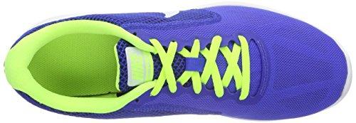 Nike Revolution 3, Scarpe da Corsa Uomo Multicolore (Racer Blue/White-Volt-Black)
