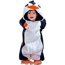 Disfraz de Pelele Pingüino para bebé de 10 meses