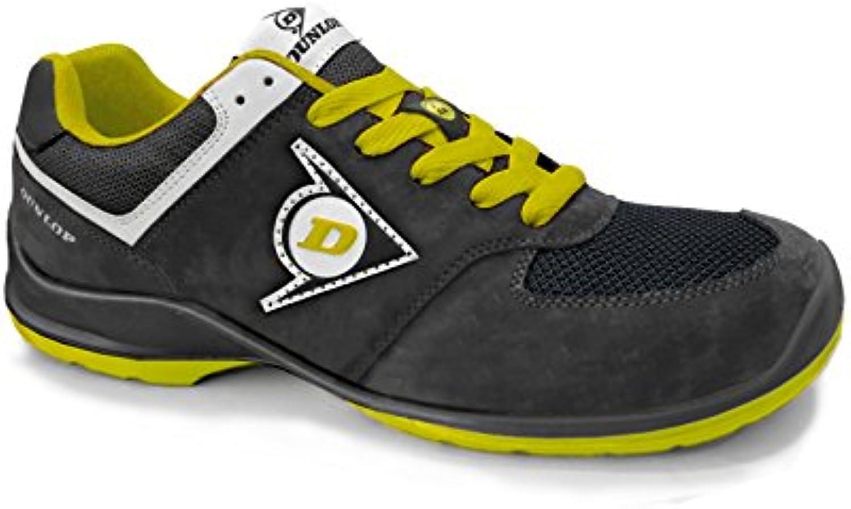 Donna  Uomo Dunlop DL0201038-40 Calzatura, Nero Giallo, 40  Aspetto estetico Materiali di alta qualità Forte calore e resistenza al calore | Facile da usare  | Scolaro/Ragazze Scarpa