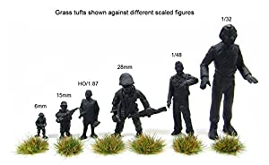 6mm Rough grass Static tufts x117 self-adhesive - Warpainter