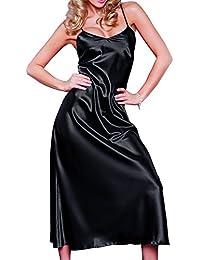 fba098052da Suchergebnis auf Amazon.de für: satin negligee lang schwarz: Bekleidung