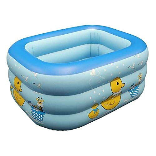 Swim Party Toys Schlauchboot Sommer Kinder 's Aufblasbare Schwimmteich Große Home Paddle Pool Bade Barrel Faltbare Bad Pool, O&YQ -