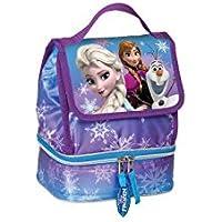 Bolsa portamerienda Frozen Disney Snow Dots