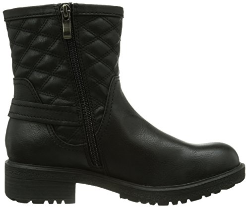 Marco Tozzi 25445 Damen Biker Boots Schwarz (Black Antic / 2)