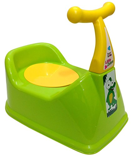 La Corsa Scooter Style Baby Potty Seat With Removable Tray (Multicolor)
