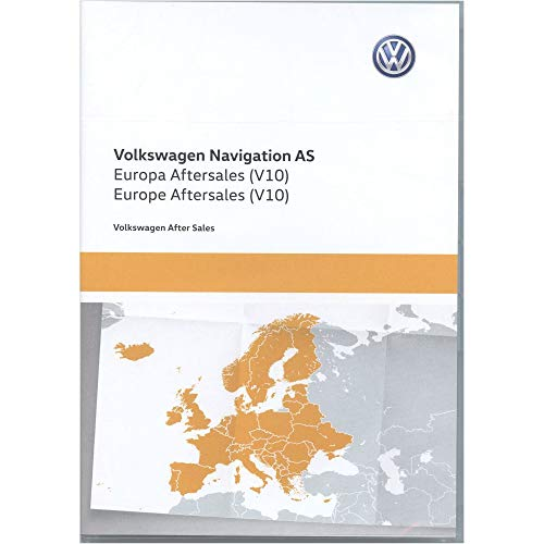 Update-sd-karte (5NA919866R SD Karte Europa West V10 Navigationssystem Update Original Navi Kartendaten *** Discover Media (System AS) ***)