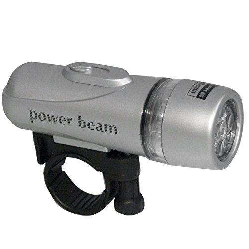 Preisvergleich Produktbild Powerline Lampen-Set mit 5+5 LED - Taschenlampe inkl. praktischer Befestigung und einer Rückleuchte - Vielseitig einsetzbar - Praktisches Zubehör