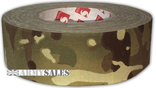 echtem Scapa British Army erebis MTP 5cm x 50m IRR (Infrarot reflektierende) Stoff Sniper Klebeband von Armee Sales