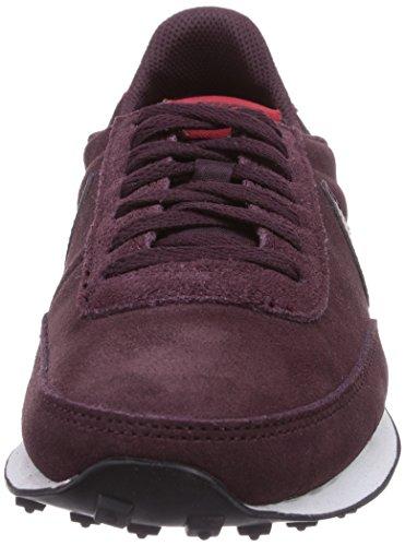 Nike Elite Leather SI Unisex-Erwachsene Sneakers Rot (Dp Brgndy/Dp Brgndy-Gym Rd-Whi)