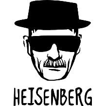 Heisenberg Breaking Bad. Rude, adulto, Funny símbolo Pegatina para coche Van para bicicleta adhesivo libre P y p