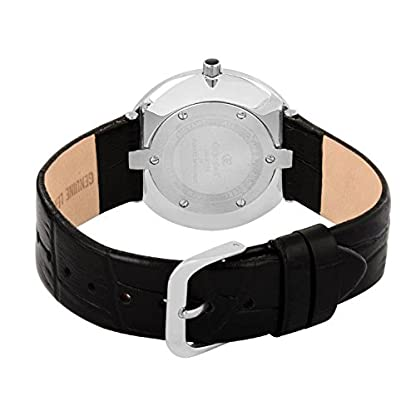 Pantalones de deporte para mujer Oskar Emil ' sQuartz reloj infantil con mecanismo de esfera analógica y negro correa de piel Juliette blanco