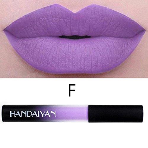 IHUI Lipstick Schönheit Lippe Gloss Long Lasting Moisturizing Lippenstift Lip Gloss Fashionable Colors Matte Liquid Lipstick (06 #) (Halloween-make-up Zu Kaufen)