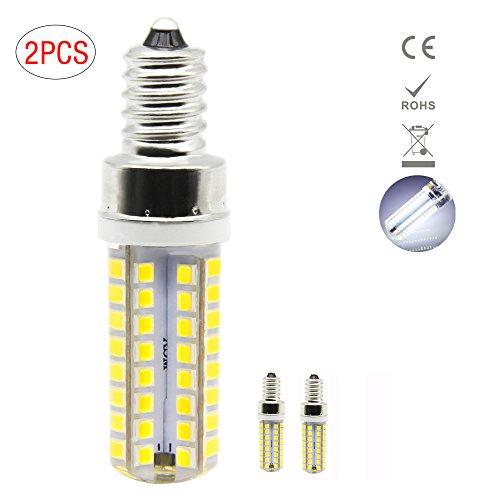 1819®E14 LED Lampe, 5W LED Birnen, Ersatz für 40W Halogen Lampen, globaler 360° Abstrahlwinkel kühles Weiß 6000K AC220-240V 400lm CRI >80, 2 Pack